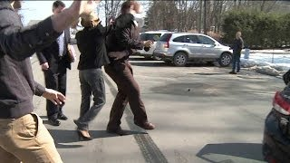 Nude Photo Suspect Hits WNEP Reporter With Purse