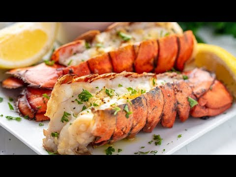 How to Make The Easiest Broiled Lobster Tails