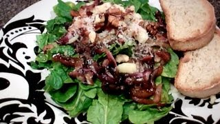 Wilted Spinach And Radicchio Salad - This Week's Feast - Ep.3
