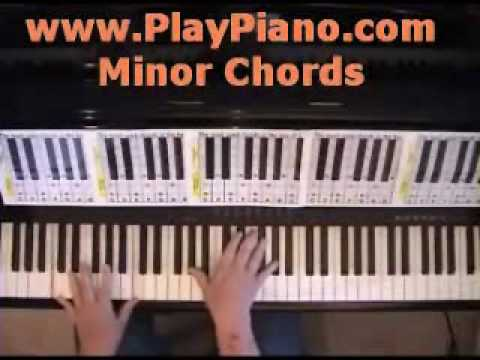 Piano 12 piano chords : How To Learn All 12 Minor Piano Chords In 7 Minutes Or Less - YouTube