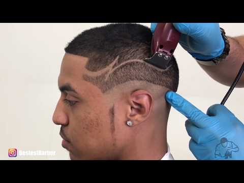 How To Do An Hair Design - *MUST SEE HAIR TRANSFORMATION* By Bestest Barber