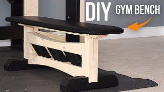 How to build a GYM Bench - Homemade GYM // EP02