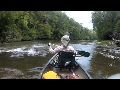 Canoeing the Dan River, NC
