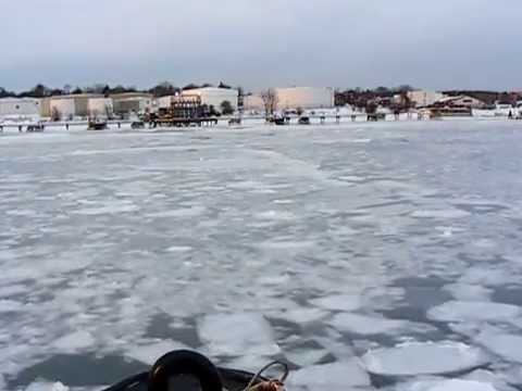 Portland Harbor Ice