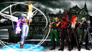 Kof Mugen Dios Celestial! LUMIEL VS Rugal Team!