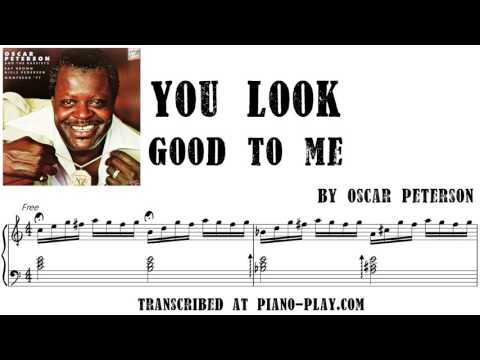 Oscar Peterson - You Look Good To Me...