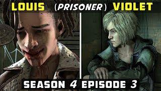 Louis as Prisoner vs Violet as Prisoner | TWD Final Season Episode 3