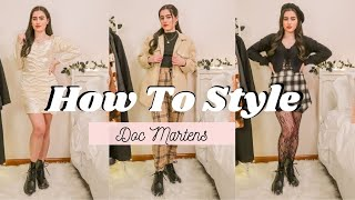 5 WAYS TO STYLE DOC MARTENS