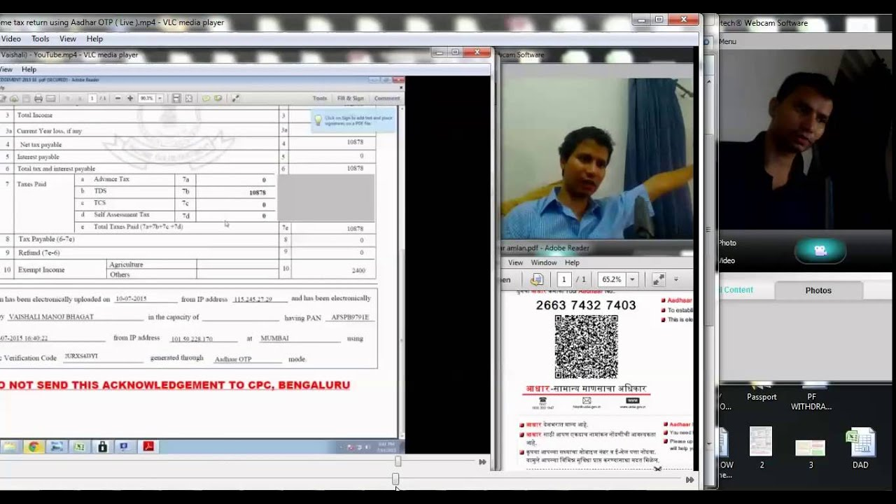 4 How To Validate Tax Return Using Electronic Verification Code After Filing  Return