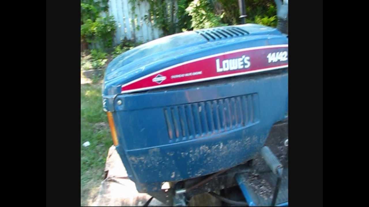 1993 lowe s mtd lawn tractor [ 1280 x 720 Pixel ]