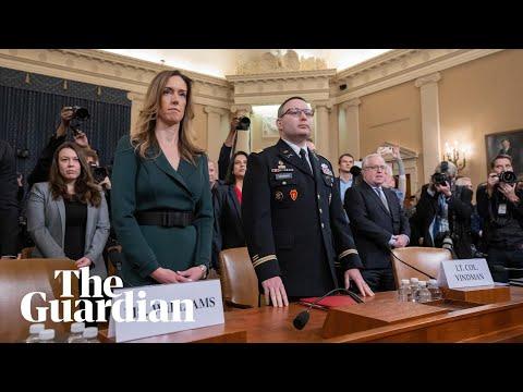 Trump impeachment inquiry;