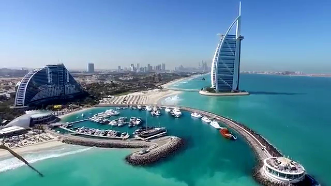 Dubai drone video footage dubai property portal for Videos dubai