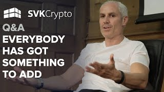 Everybody has got something to add | Q&A at the Crypto Investor Show