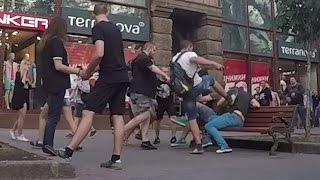 Video Gay Couple Attacked During Social Experiment In Kiev download MP3, 3GP, MP4, WEBM, AVI, FLV Agustus 2018