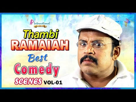 Thambi Ramaiah Comedy Collection | Super Hit Tamil Comedy Scenes | Vol 1 | Puli | Komban | Adhibar