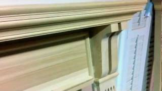 The Mt. Vernon Fireplace Mantel (hickory Wood)