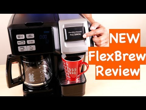 Hamilton Beach 49976 Flex Brew 2 Way Brewer Programmable