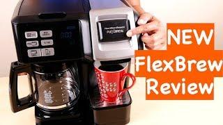 Hamilton Beach 49976 Flex brew 2 Way Brewer Programmable Coffee Maker Review