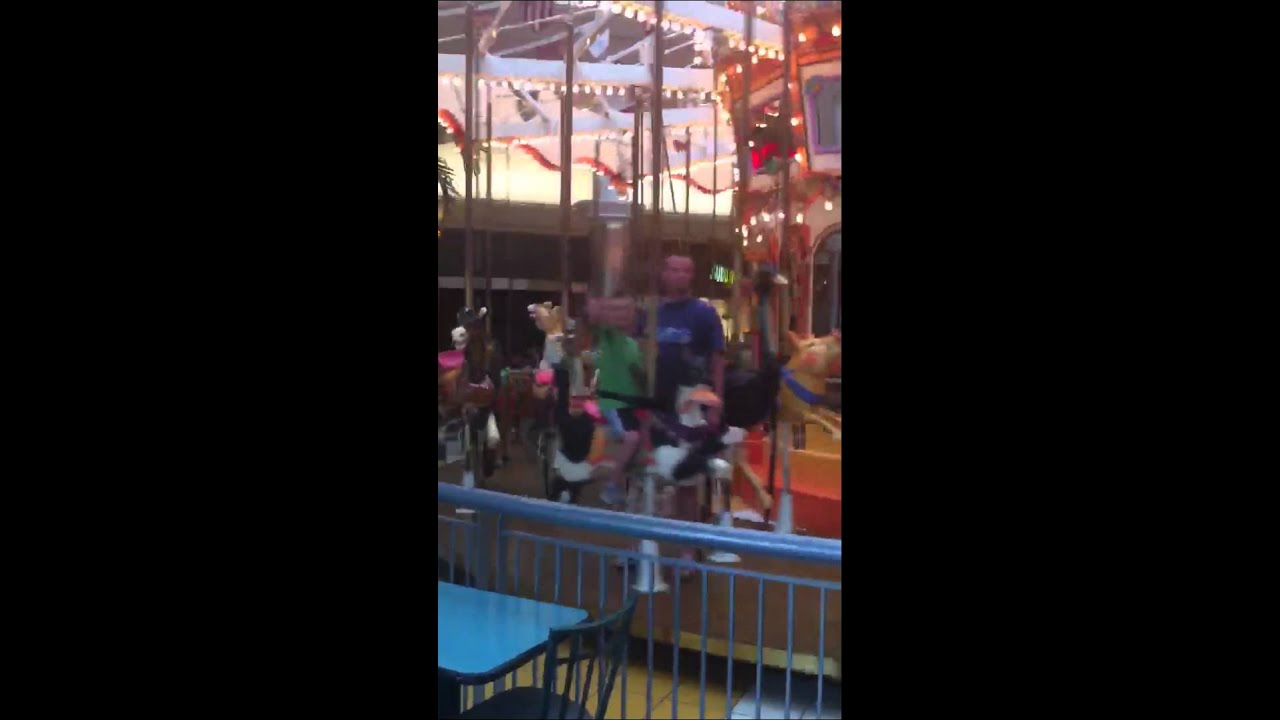 Rivergate mall carousel youtube for The rivergate