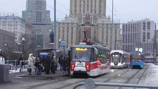 видео Московский Трамвай || Подвижной состав || Вагон КТМ 71-630