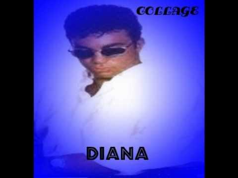 Collage - Diana.  latin freestyle