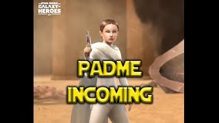 Legendary Padme Incoming - Star Wars: Galaxy of Heroes - SWGoH