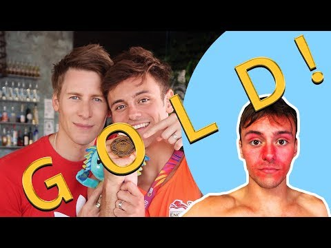 Red Faced Fail Goes Gold! |🏳️‍🌈HUSBAND VLOG TAKEOVER🏳️‍🌈| Tom Daley