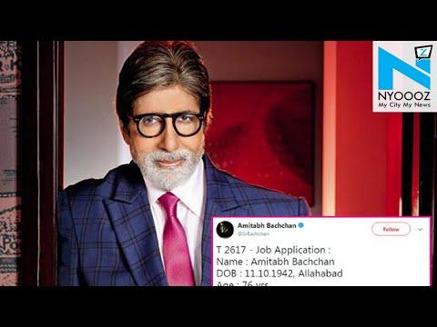 Big B's job application to work with Deepika & Katrina is hilarious AF!