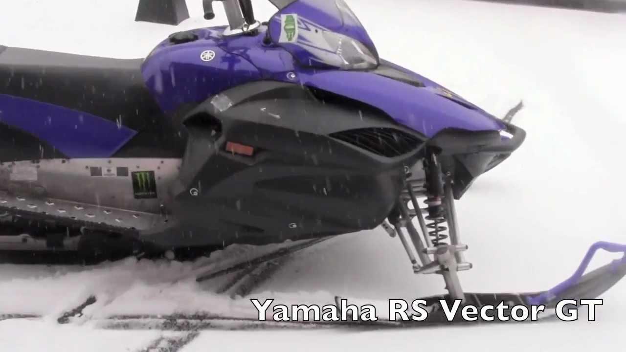 Yamaha Vector Snowmobile