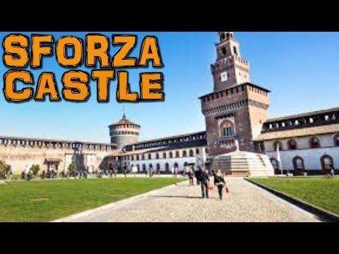 Castello Sforzesco - Sforza Castle Milan Italy (4K)