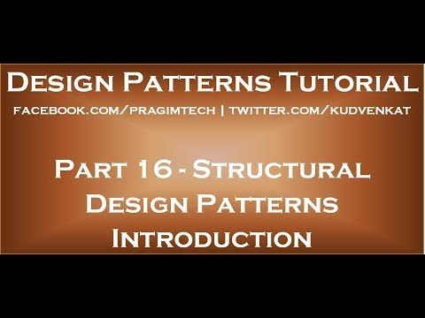 Structural Design Patterns Introduction