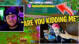 "Ninja Reacts to ""TimTheTatman Most Viewed Clips of ALL TIME!"""