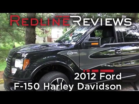2012 Ford F 150 Harley Davidson Edition Walkaround Review And Test