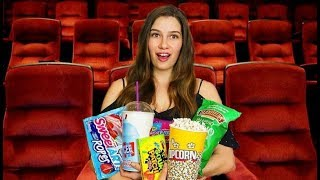Types of People at the Movie Theater!