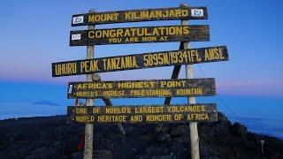 Climbing Mount Kilimanjaro 2016