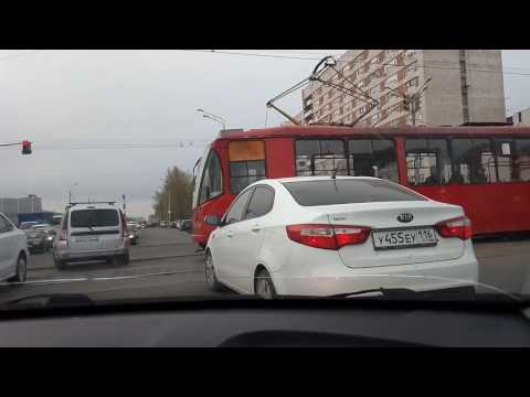 Движение в Казани!!! Я в шоке!!!