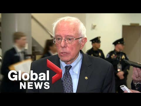 "Bernie Sanders on Trump impeachment: ""No President can be above the law"""