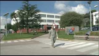 Exclusive access to NATO's new Naples HQ 08.10.12