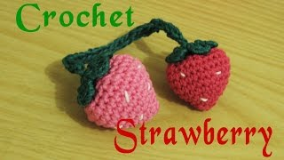 Download Video Amigurumi || Cara Merajut Strawberry - Strawberry Crochet MP3 3GP MP4