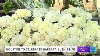 Celebration of Life for Barbara Bush expected to draw large crowds