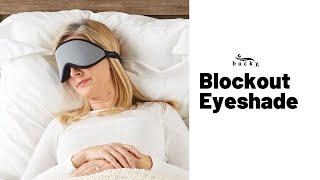 Completely block-out light and sound with these eye masks! | Bucky