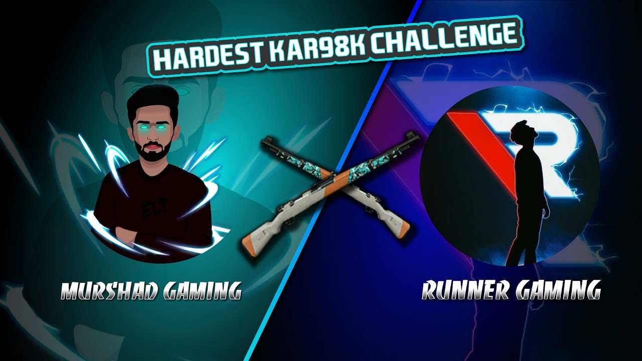 RunNer Gaming Vs Murshad Gaming / Indian Best Kar98k Player / Can I cover Double Lead?