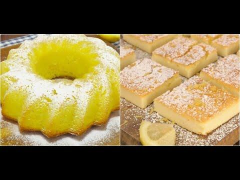3 perfect dessert for lemon lovers