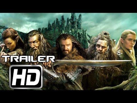 El Hobbit La Batalla De Los Cinco Ejercitos (2014) Trailer HD 1080p
