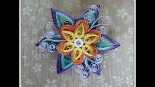 Einfache Quilling Blume /Quilling Tutorial -Easy and beautiful Flower