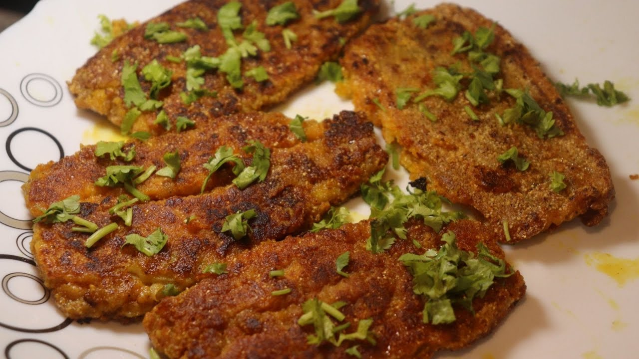 """কুরকুরে লোটে মাছ ফ্রাই """"বাঙালি স্টাইলে""""/Kurkure Bombil Fish Fry """"Bengali Style""""."""