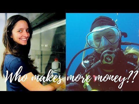 How much money do you make? Marine Biologist vs Scuba Diving Instructor
