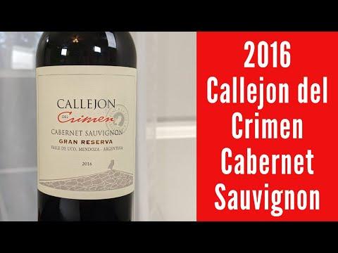 2016 Callejon Gran Reserva Cabernet Sauvignon Wine Review