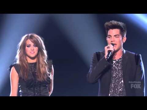 Adam Lambert feat Angie Miller  Titanium American Idol Finale