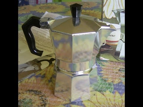 Espressokocher Bialetti Moka Express ,Moka pot - YouTube | {Espressokocher 63}
